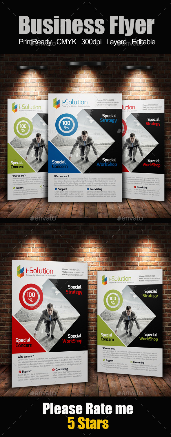 Creative Multi Use Business Flyer - Corporate Flyers