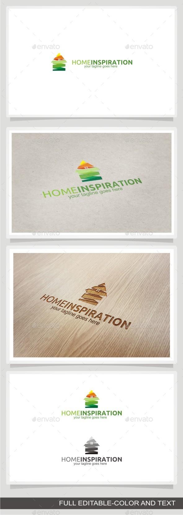 Home Inspiration - Buildings Logo Templates