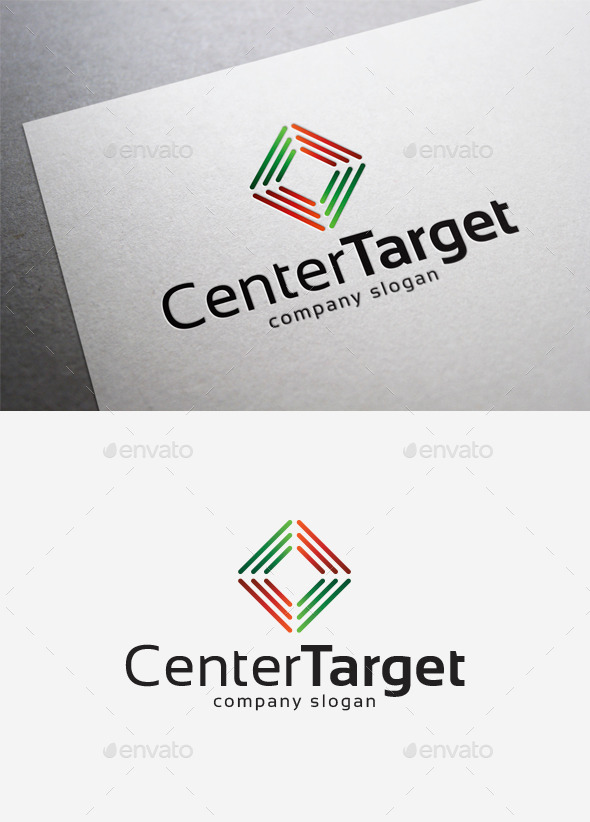 Center Target Logo - Abstract Logo Templates