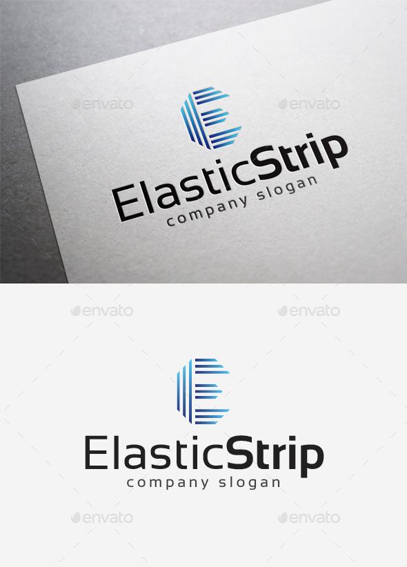 Elastic Strip Logo - Letters Logo Templates