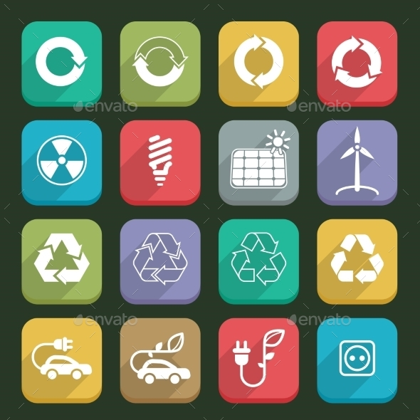 Ecology Icons - Miscellaneous Vectors