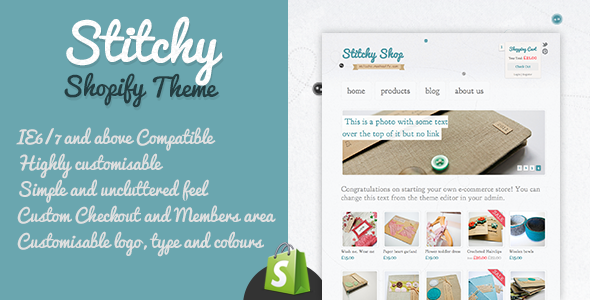 Stitchy Shopify Theme