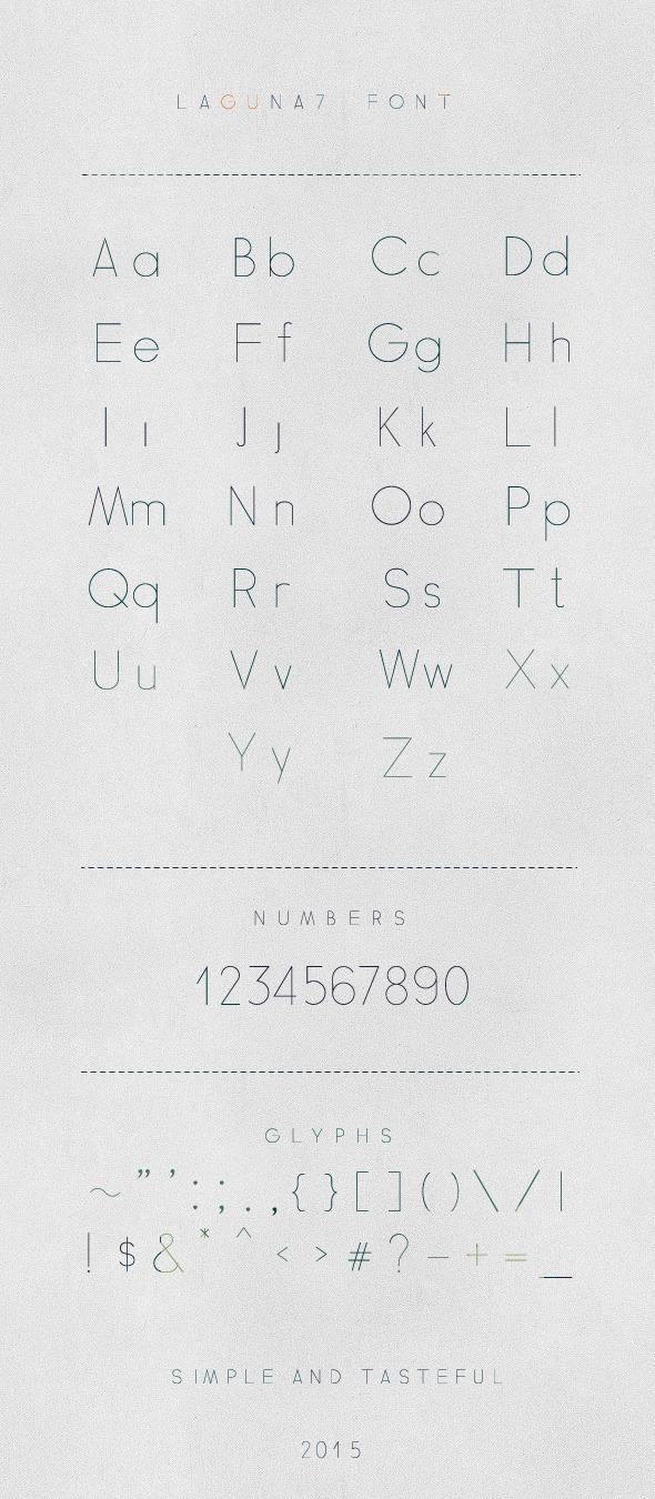 Laguna7 Font - Monospaced Sans-Serif