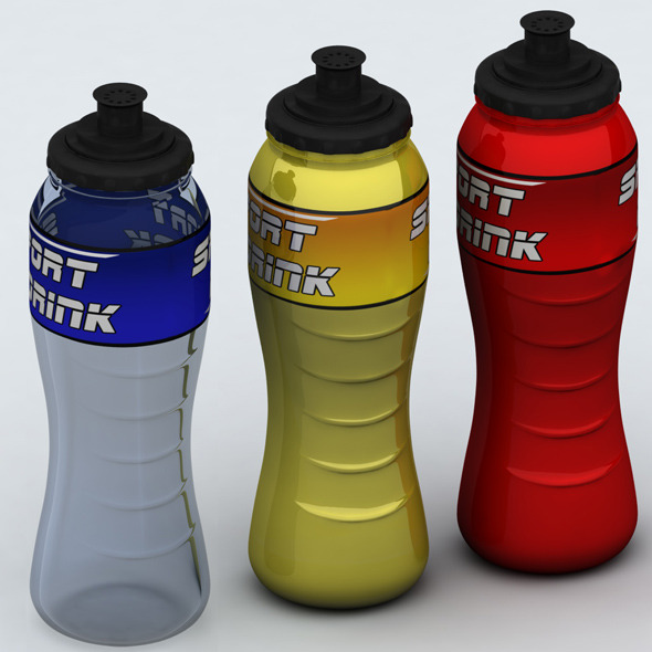 Sport bottle - 3DOcean Item for Sale