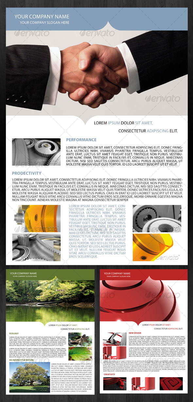 Business Events Flyer - Corporate Brochures
