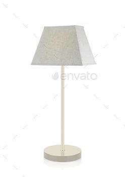 Floor Lamp isolated on white
