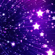 Glowing Stars Galaxy - VideoHive Item for Sale