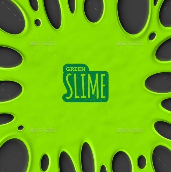 Green Slime - Halloween Seasons/Holidays