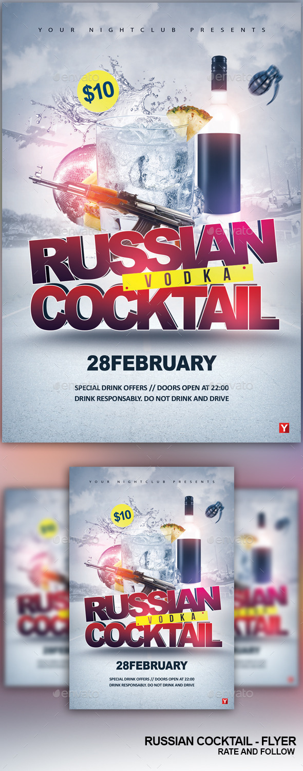 The Russian Cocktail - Clubs & Parties Events