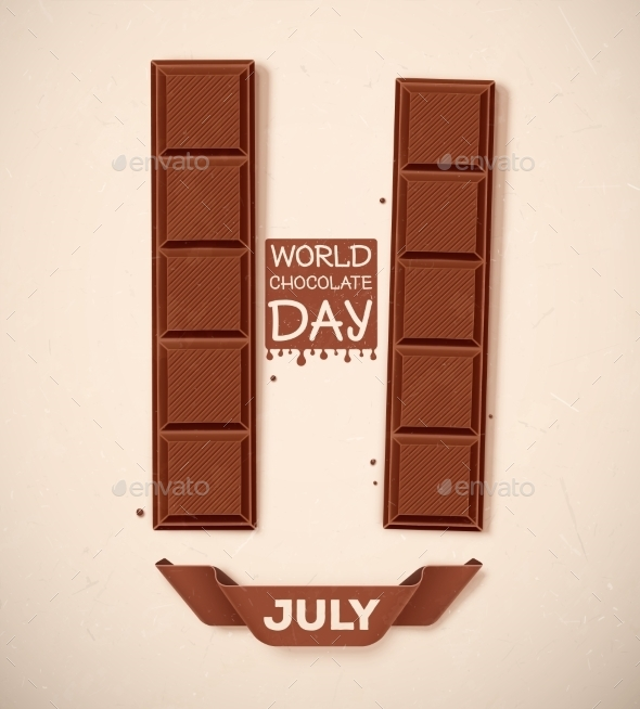 World Chocolate Day - Food Objects