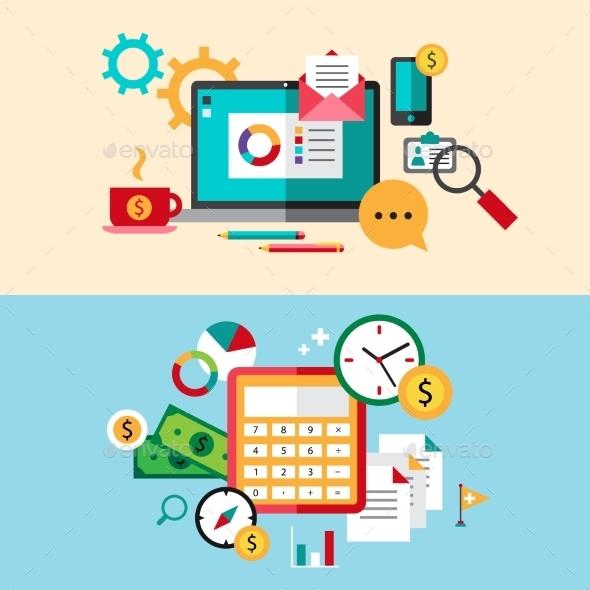 Business Concept - Web Technology