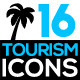Set of Tourism Related Icons - GraphicRiver Item for Sale