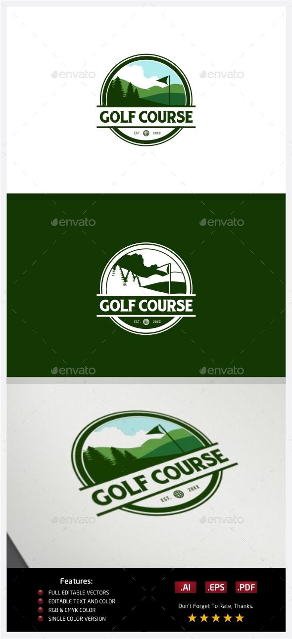 Golf Course Logo - Nature Logo Templates