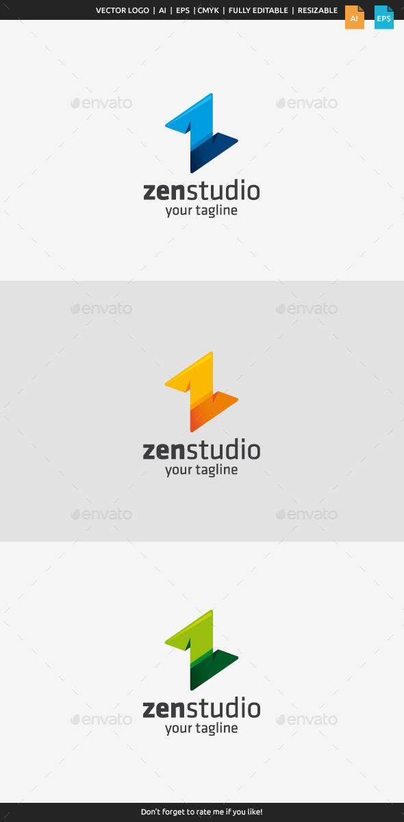 Zen Studio - Z Logo - Letters Logo Templates