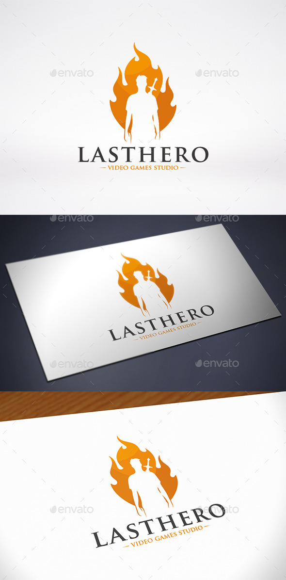 Last Hero Logo Template - Humans Logo Templates