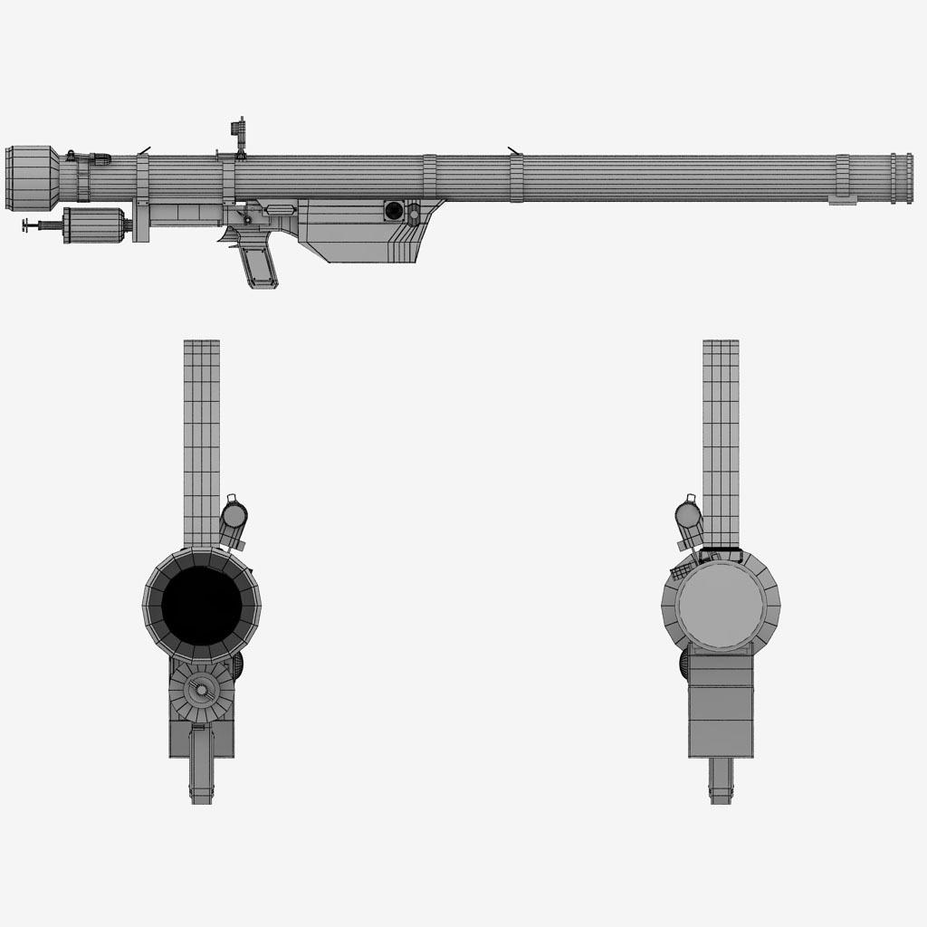 SA-7 Grail Rocket Launcher