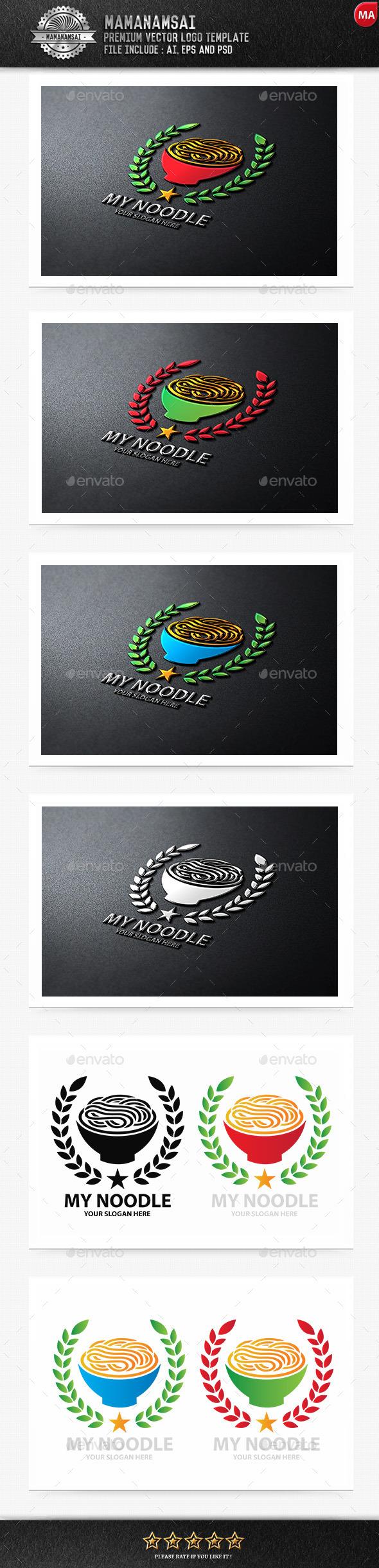My Noodle Logo - Logo Templates