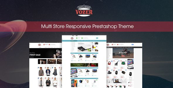 Vozer – Multi-Purpose Responsive Prestashop Theme