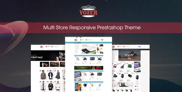 Vozer - Multi-Purpose Responsive Prestashop Theme