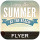 Enjoy the Summer Flyer - GraphicRiver Item for Sale