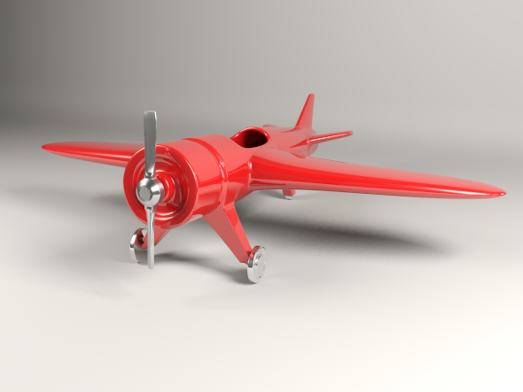 Plane Toy - 3DOcean Item for Sale