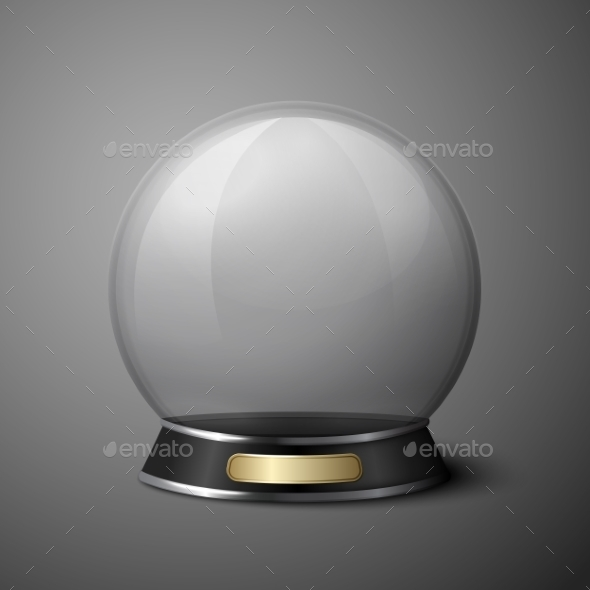 Crystal Ball - Man-made Objects Objects