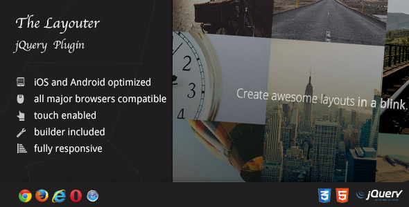 Layouter - Your Portfolio in Awesome Layouts - CodeCanyon Item for Sale