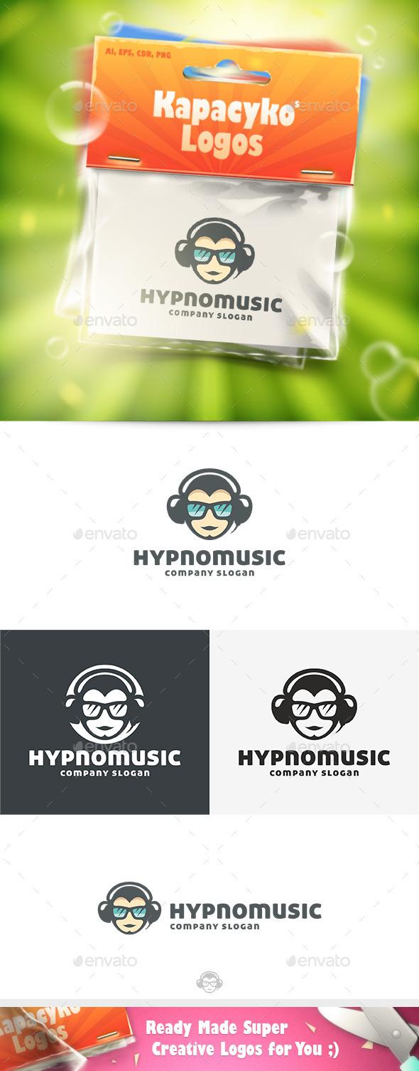 Hypno Music Logo - Humans Logo Templates