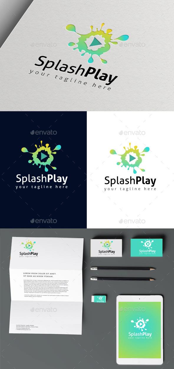 Splash Play - Abstract Logo Templates
