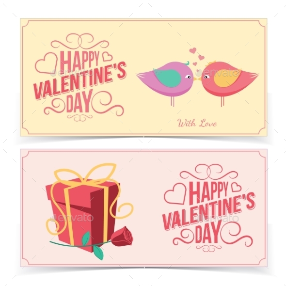 Saint Valentine's Day Banners - Valentines Seasons/Holidays