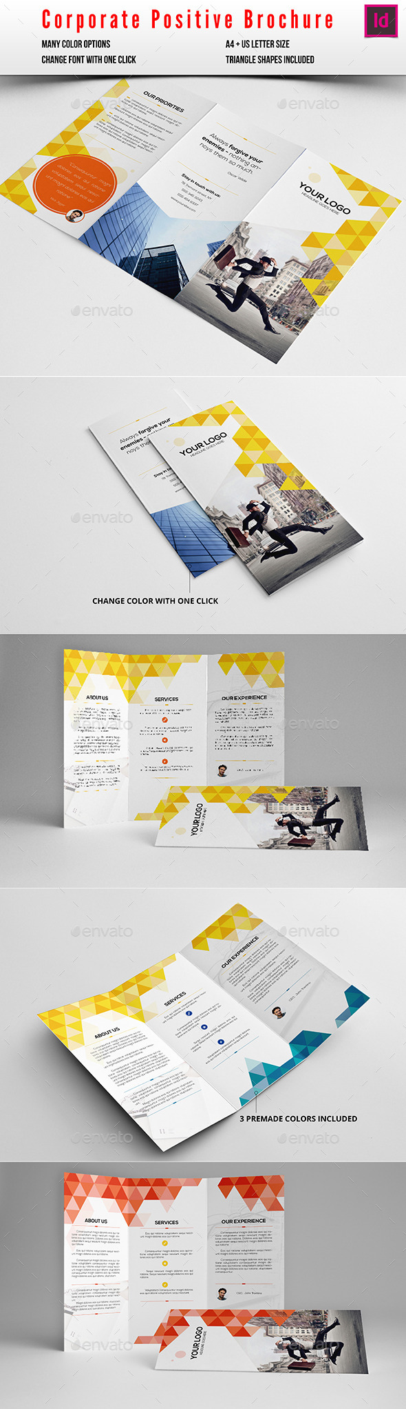 Corporate Positive Brochure - Corporate Brochures