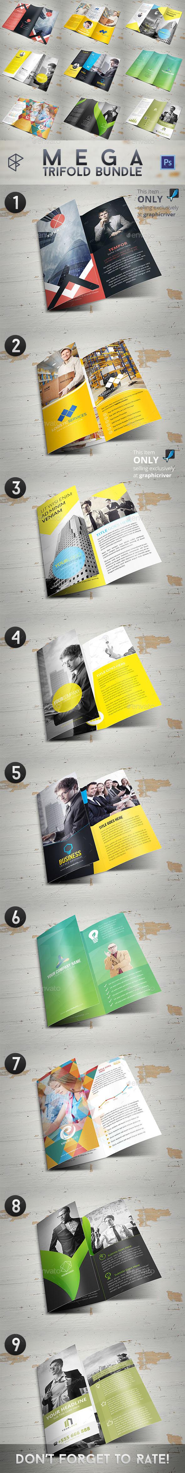 Mega Trifold Bundle - Corporate Brochures