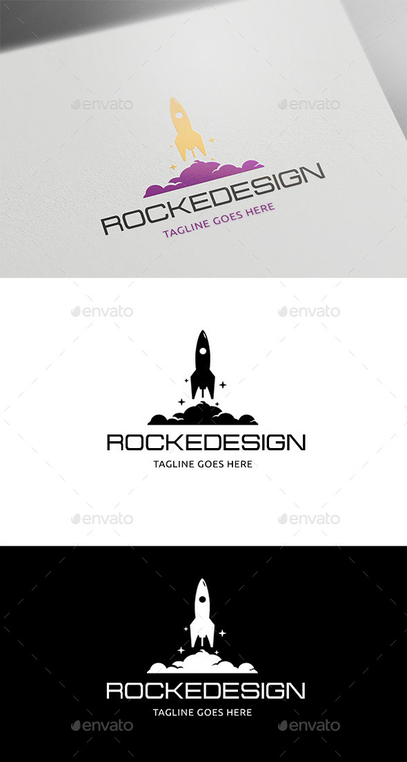 Rocket Design - Objects Logo Templates