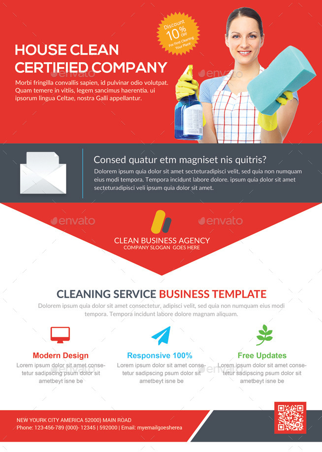 house cleaning services flyer template by graphicforestnet graphicriver. Black Bedroom Furniture Sets. Home Design Ideas