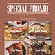 Minimal Restaurant Food Flyer - GraphicRiver Item for Sale