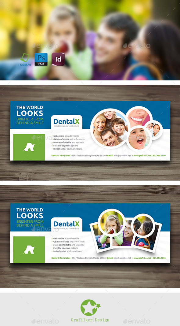 Dentist Cover Templates - Facebook Timeline Covers Social Media