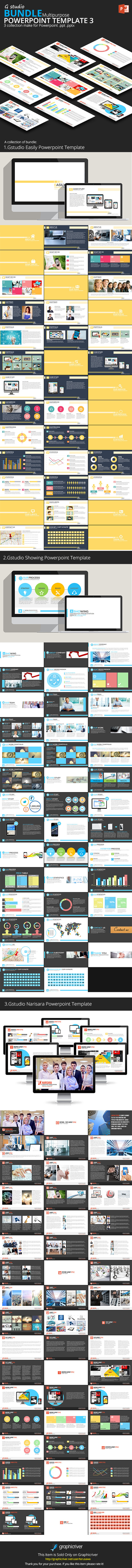 Gstudio Powerpoint Bundle 3 - Business PowerPoint Templates