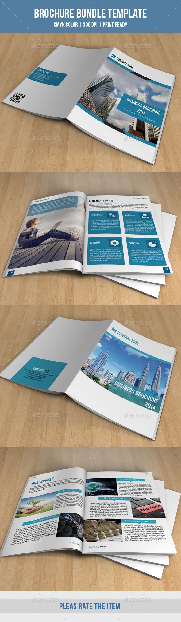Business Brochure Bundle-V07 - Corporate Brochures