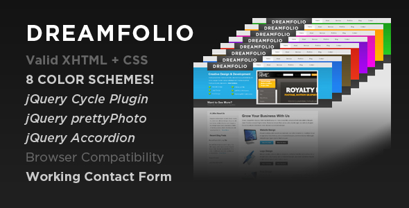Free Download DreamFolio - Business & Portfolio Nulled Latest Version