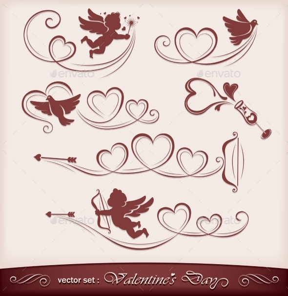 Icons for Valentine's Day - Valentines Seasons/Holidays