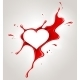 Red Spray Paint and Heart - GraphicRiver Item for Sale