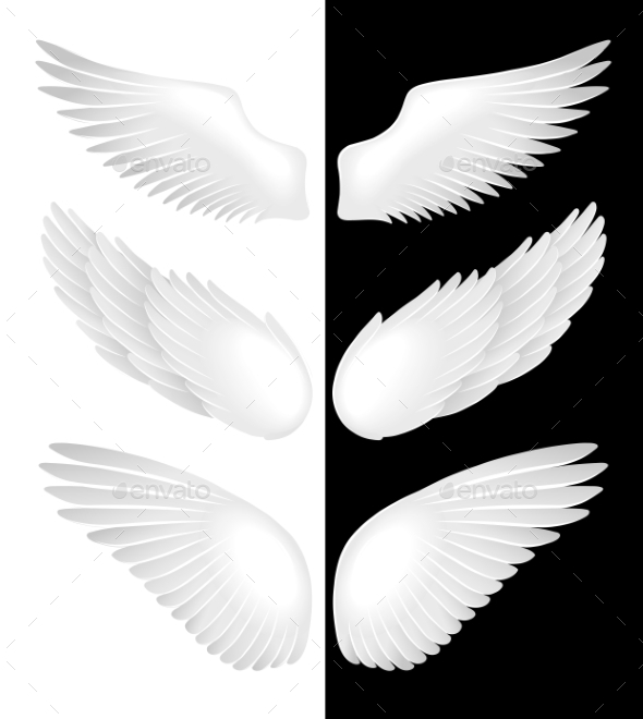 Wings of Angels - Miscellaneous Vectors