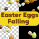 Easter Eggs Falling 3D - VideoHive Item for Sale