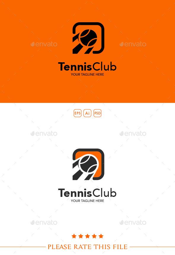 Tennis Logo - Vector Abstract