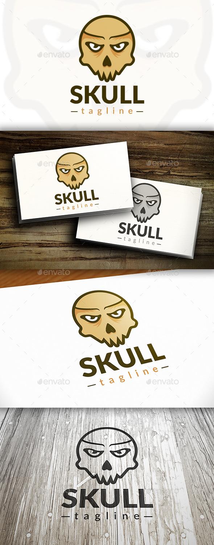 Ghost Skull Logo - Symbols Logo Templates