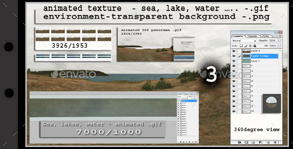 animated texture: sea - 3 - 3DOcean Item for Sale