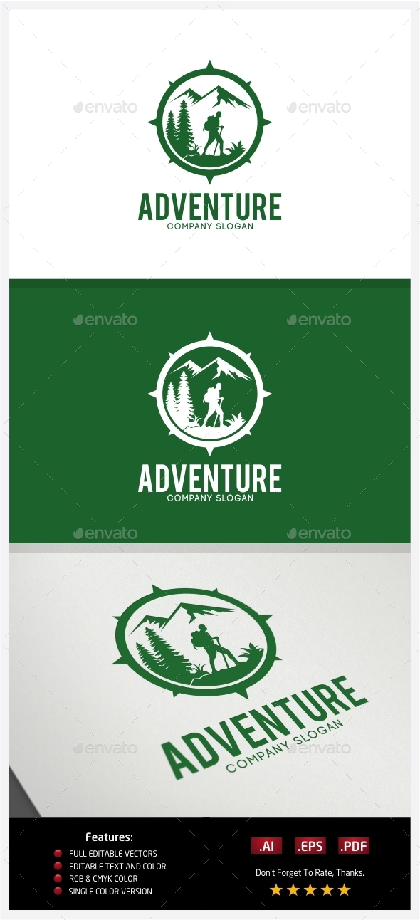 Adventure Logo - Nature Logo Templates