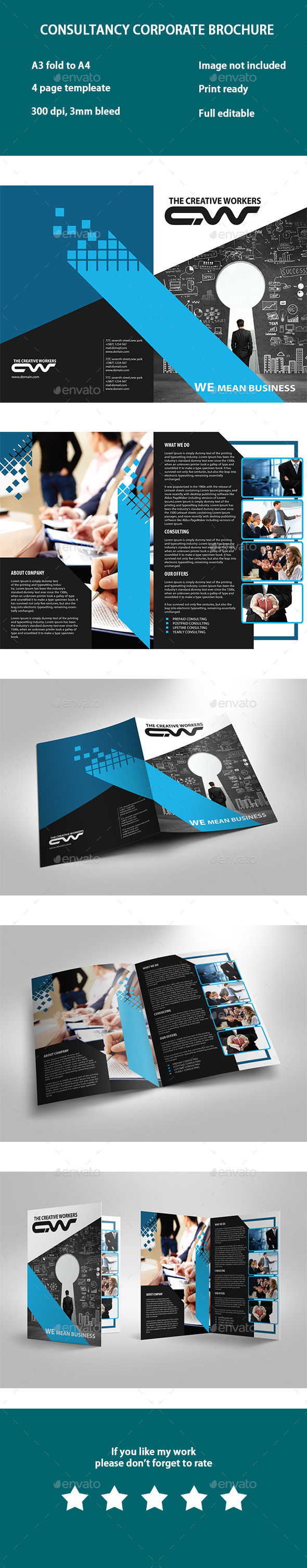Consultancy Business Brochure - Corporate Brochures
