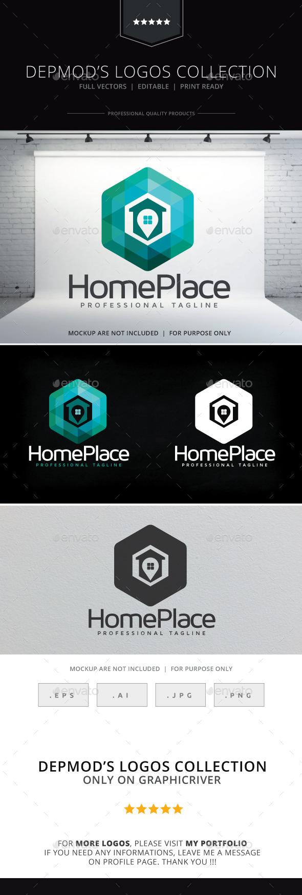 Home Place Logo - Symbols Logo Templates