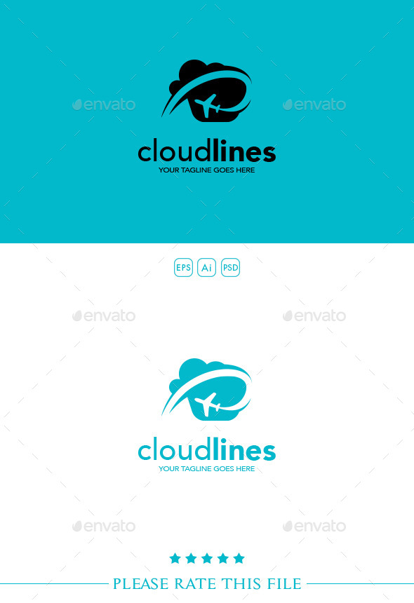 Airlines Logo - Vector Abstract
